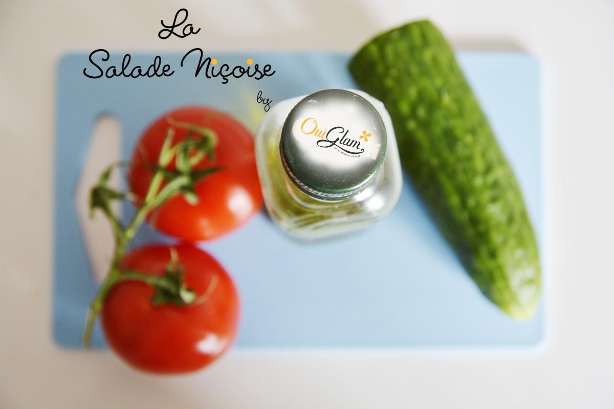 La salade Niçoise arrangée, votre plat léger pour l'été